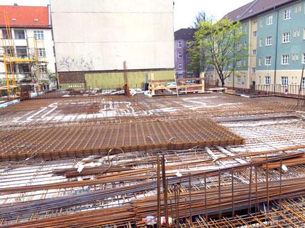 SBB Stahl & Bau GmbH Stahlbiegerei Berlin-Brandenburg geprüfter Stahllieferant Referenz - Wohnhaus in Berlin